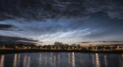 A nap képe: Hajnali világító felhők