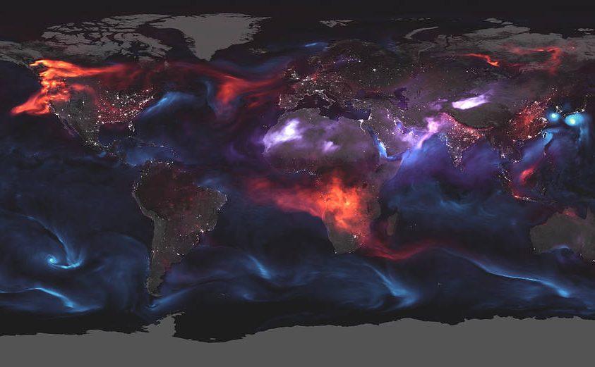 Bolygónk légszennyezettsége egyetlen képben