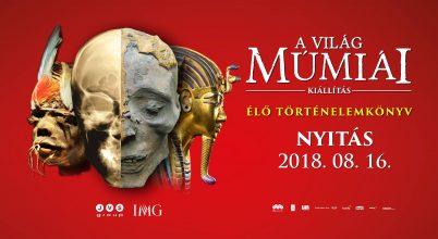 Megérkezett Magyarországra a múmiákat bemutató kiállítás