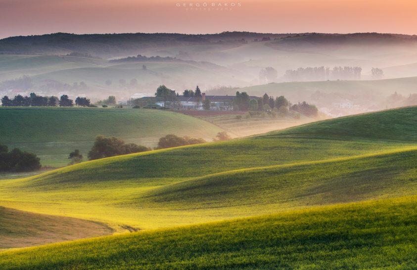 A nap képe: Egy párás reggel Szlovákiában
