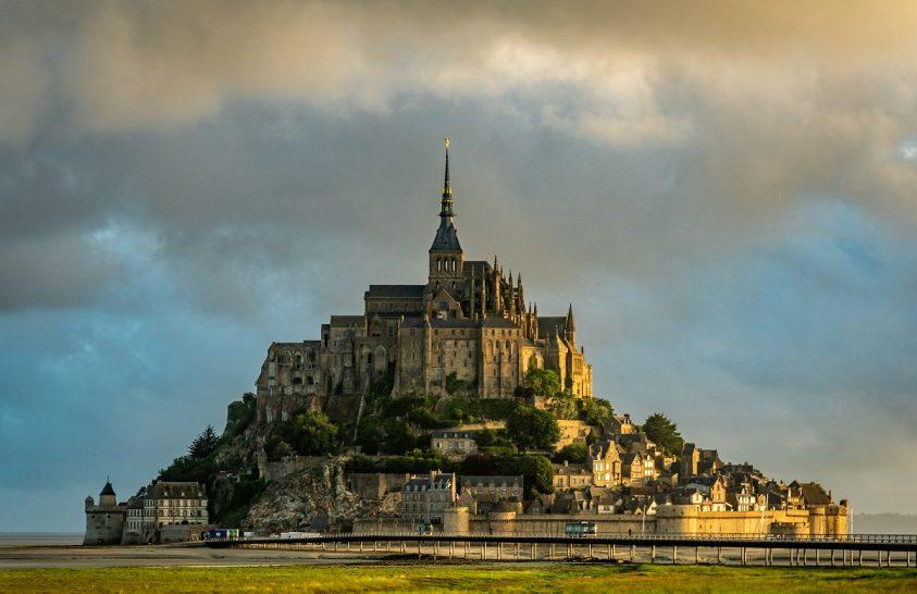A nap képe: Mont Saint-Michel