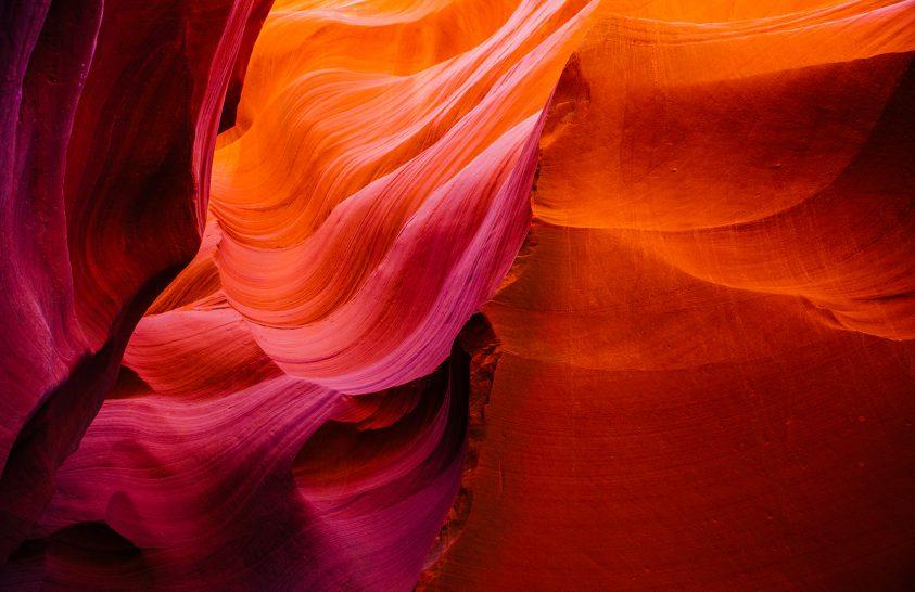 A nap képe: Antilop-kanyon