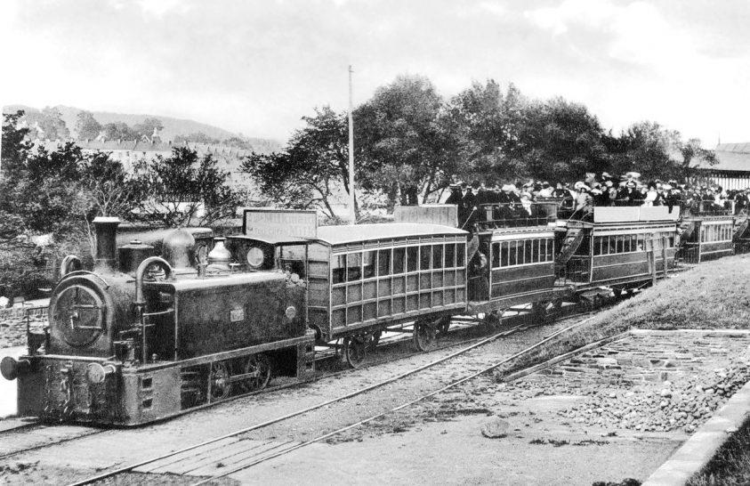 A világ első személyszállító vasútja