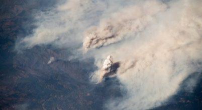 Már az űrből is látni a kaliforniai tüzeket