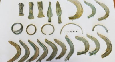 Kutya találta meg a bronzkori leleteket