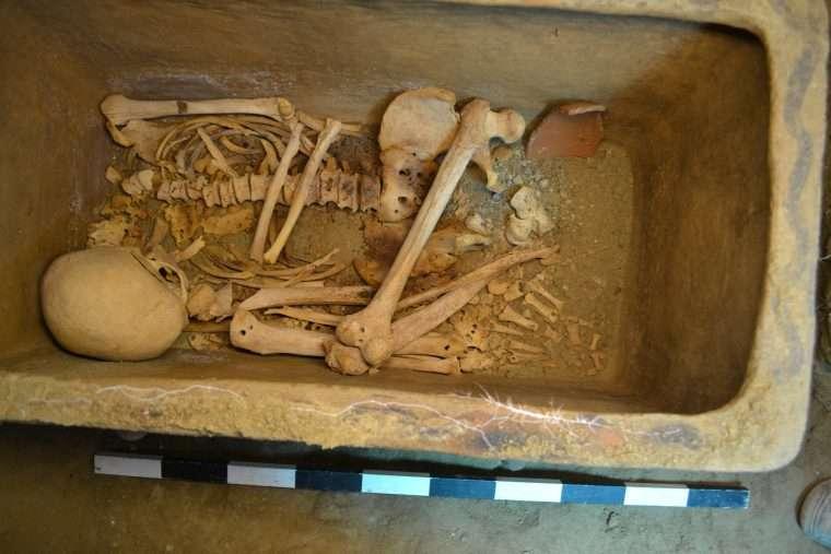 Több ezer éves sír került elő az olajfák alatt