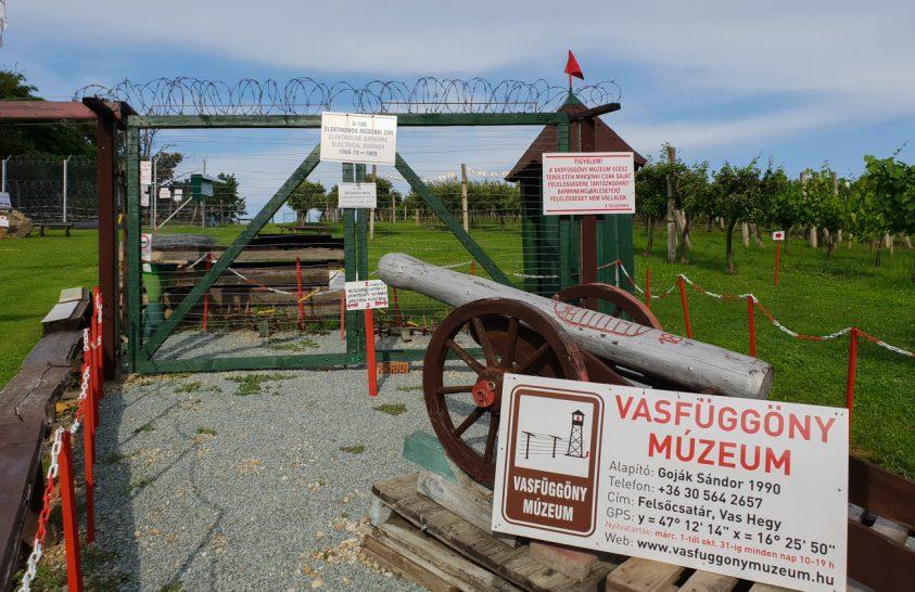 Vasfüggönymúzeum Vas megyében, a Vas-hegyen