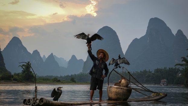 A Li-folyó természeti csodája és utolsó kormoránhalászai