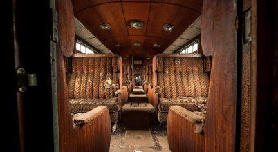A nap képe: Elhagyatott luxus vonat valahol Belgiumban, az 1880-as évekből