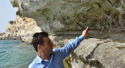 Történelem előtti alkotásra bukkant három halász