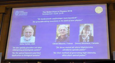 Fizikai Nobel-díj – 2018