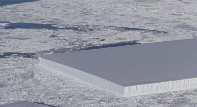 Tökéletes formájú jéghegyet találtak