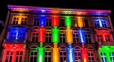 A fényes Łódź