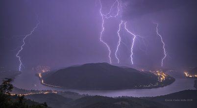 A nap képe: Vihar a Dunakanyarban