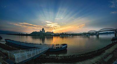 A nap képe: Esztergomi napfelkelte