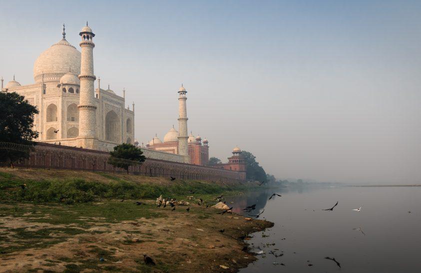 A nap képe: A Taj Mahal egy másik perspektívából
