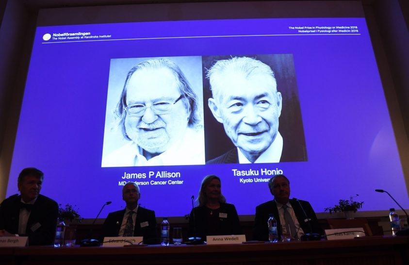 Orvosi Nobel-díjak – 2018