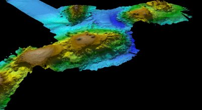 Hatalmas vulkánláncra bukkantak a tenger mélyén