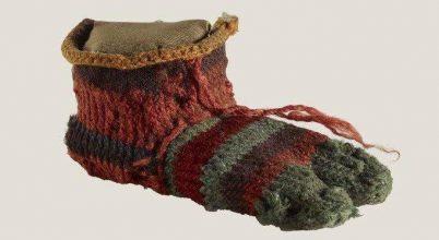 Ilyen zoknit viselhetett egy ókori egyiptomi gyermek