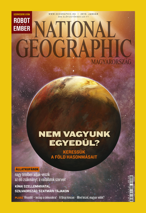 National Geographic Magazin - 2010. január