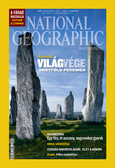 National Geographic Magazin - 2010. február