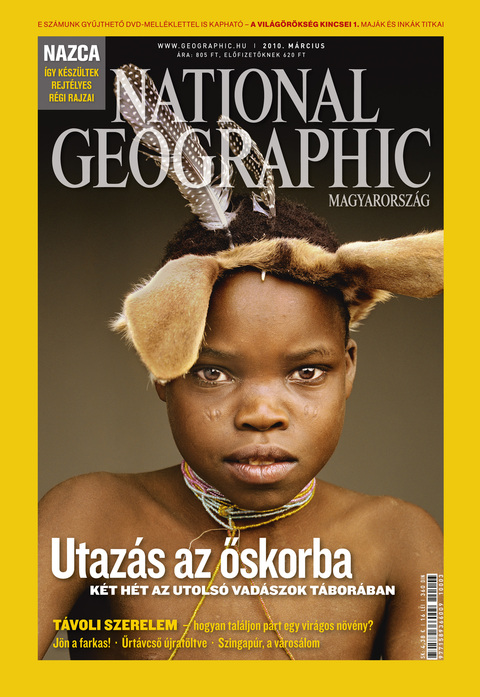 National Geographic Magazin - 2010. március