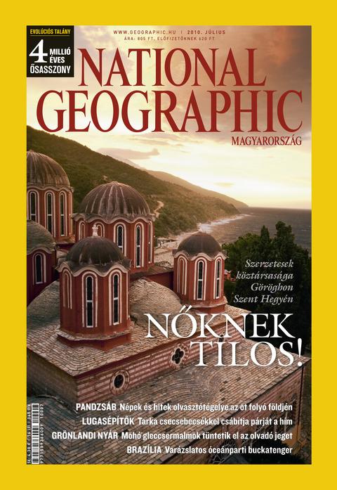 National Geographic Magazin - 2010. július