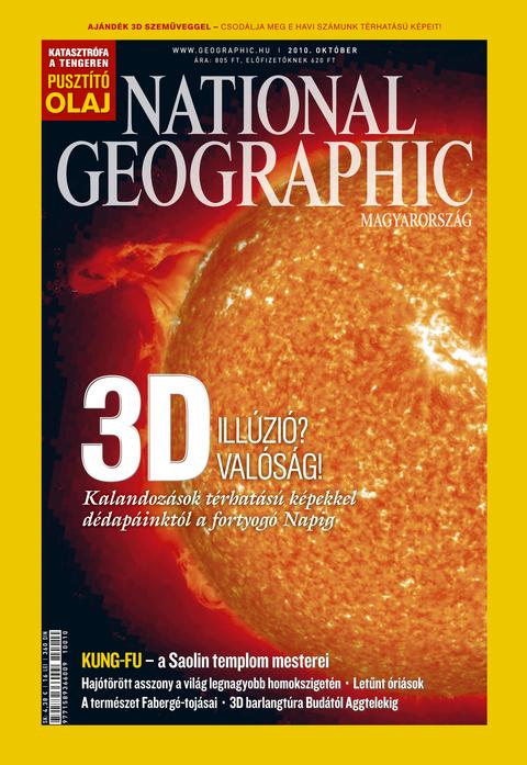 National Geographic Magazin - 2010. október