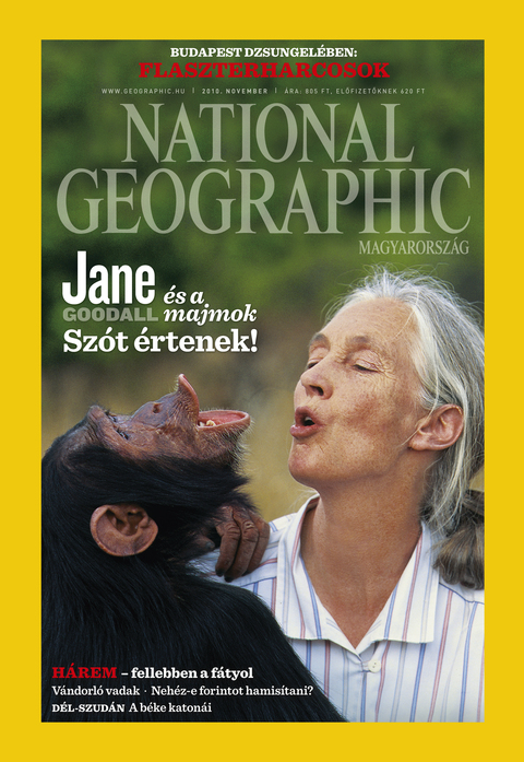 National Geographic Magazin - 2010. november