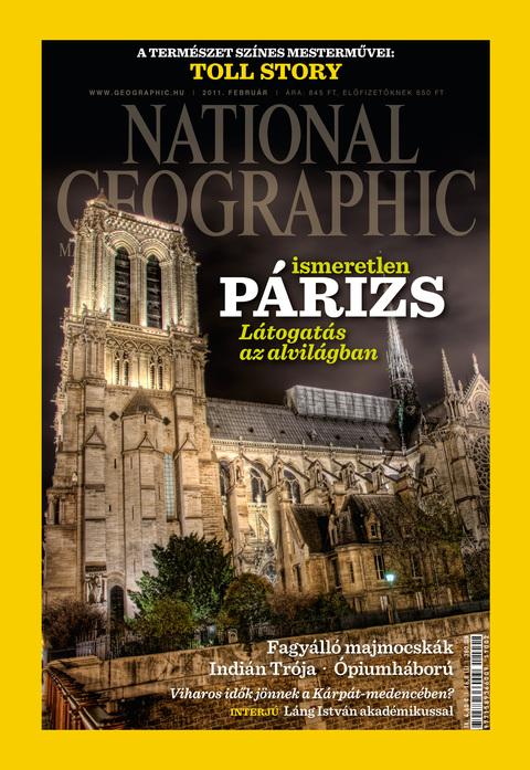 National Geographic Magazin - 2011. február