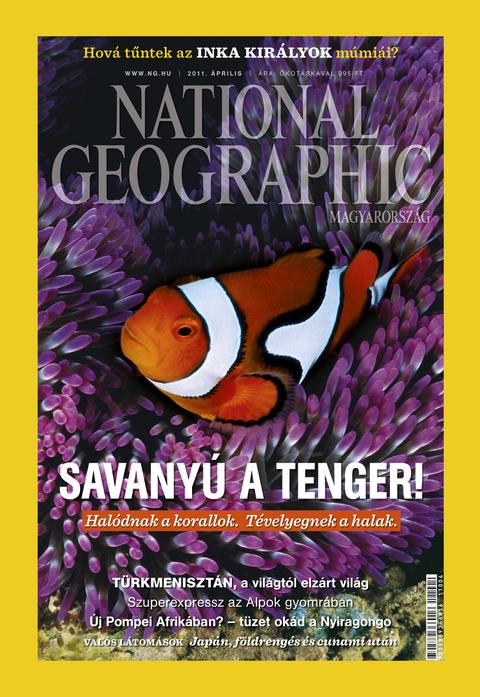 National Geographic Magazin - 2011. április