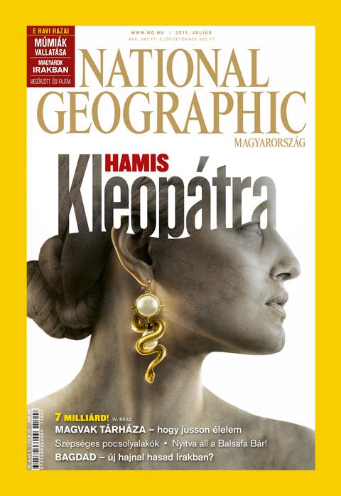 National Geographic Magazin - 2011. július