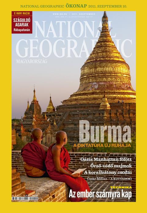 National Geographic Magazin - 2011. szeptember