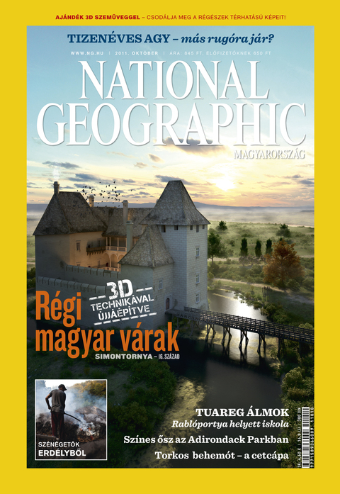 National Geographic Magazin - 2011. október