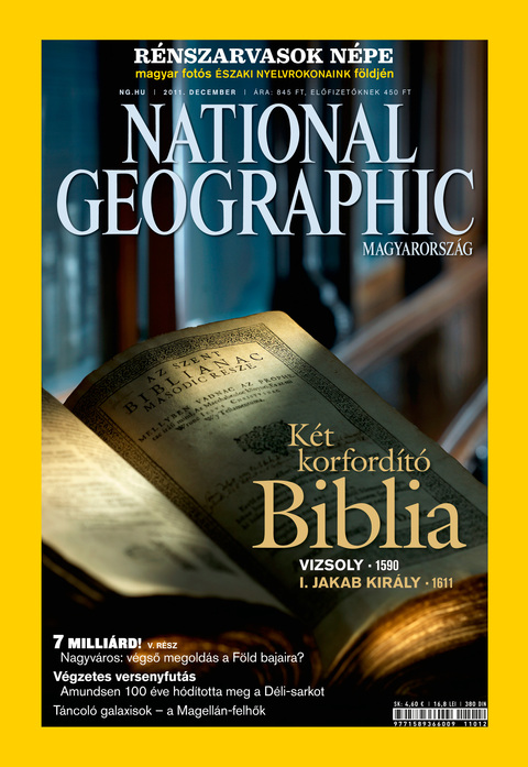 National Geographic Magazin - 2011. december