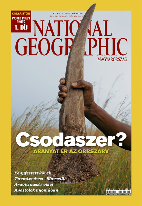 National Geographic Magazin - 2012. március