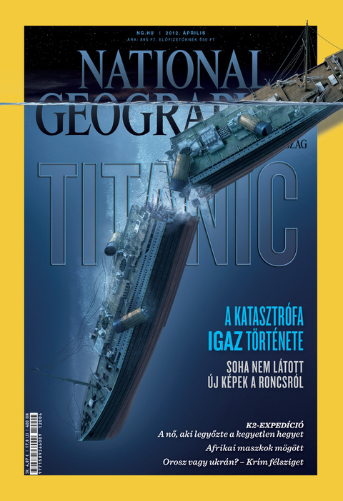 National Geographic Magazin - 2012. április