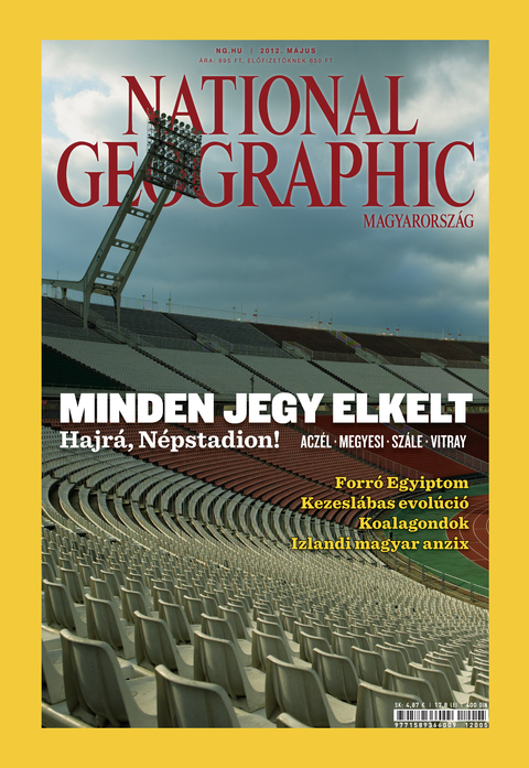 National Geographic Magazin - 2012. május