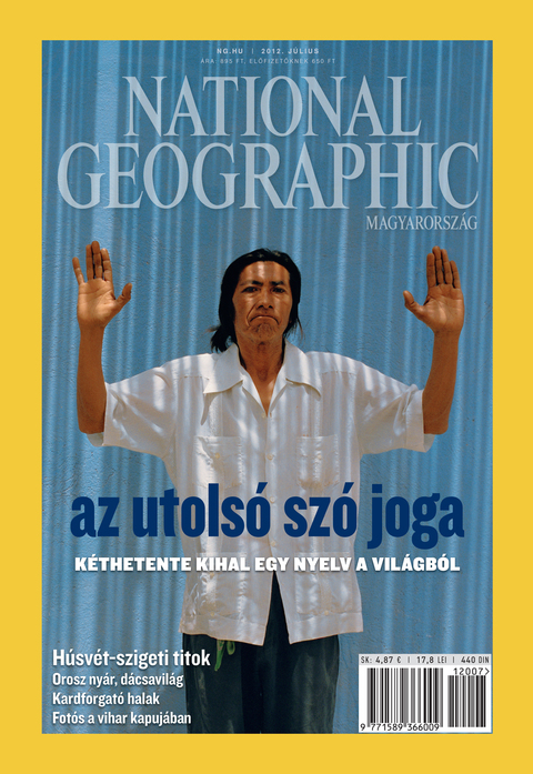 National Geographic Magazin - 2012. július