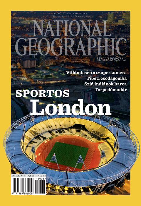 National Geographic Magazin - 2012. augusztus
