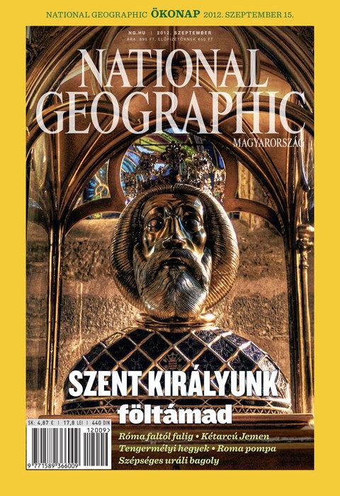 National Geographic Magazin - 2012. szeptember
