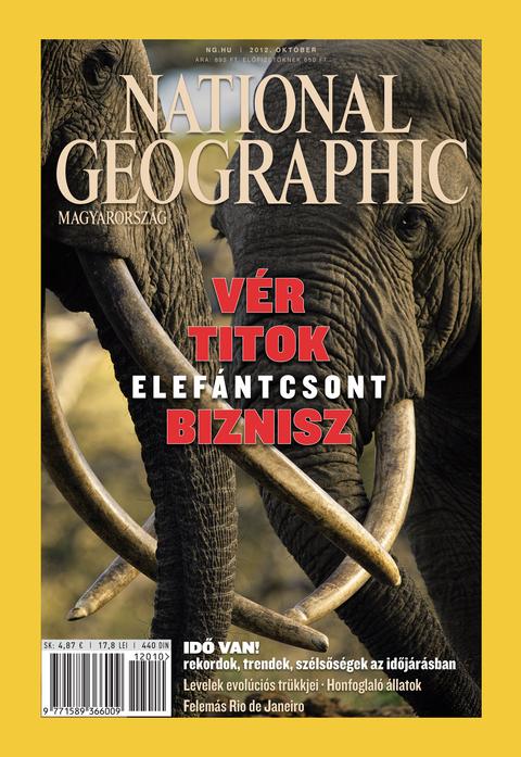 National Geographic Magazin - 2012. október