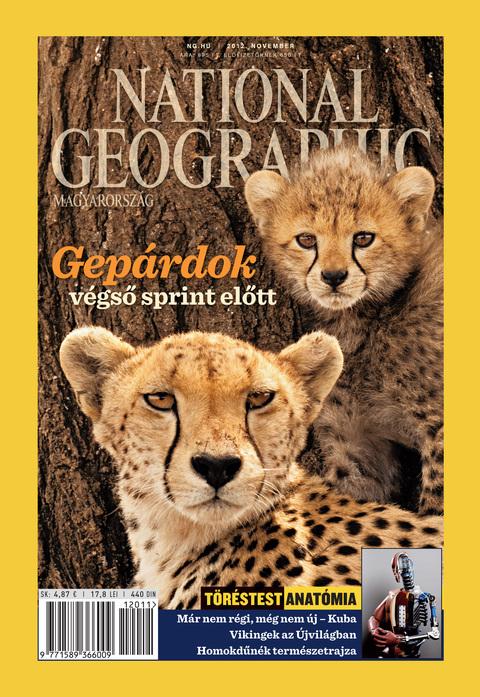 National Geographic Magazin - 2012. november