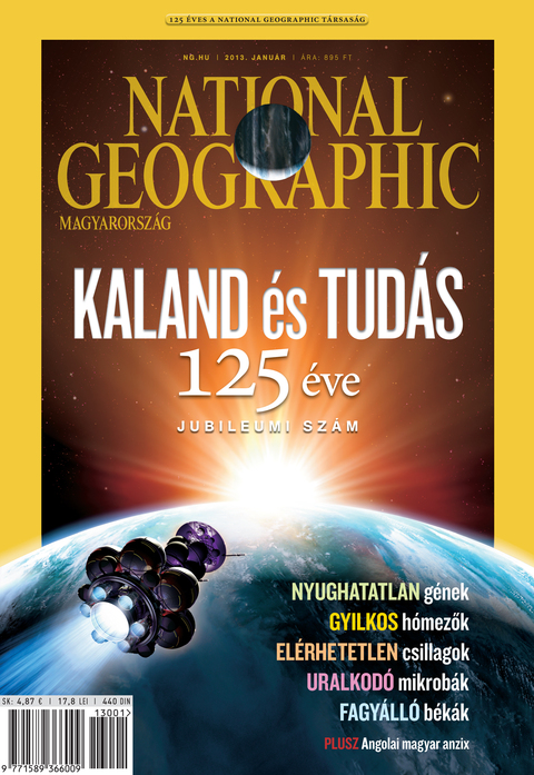 National Geographic Magazin - 2013. január