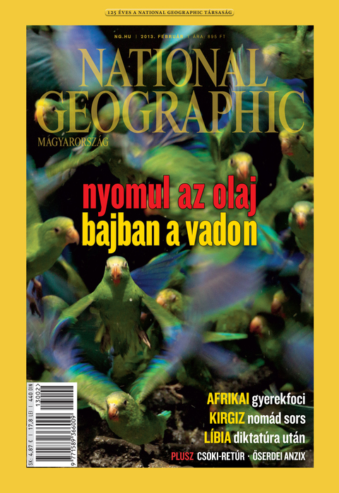 National Geographic Magazin - 2013. február