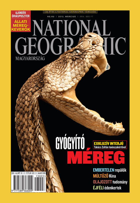 National Geographic Magazin - 2013. március
