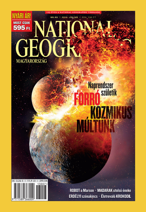 National Geographic Magazin - 2013. július
