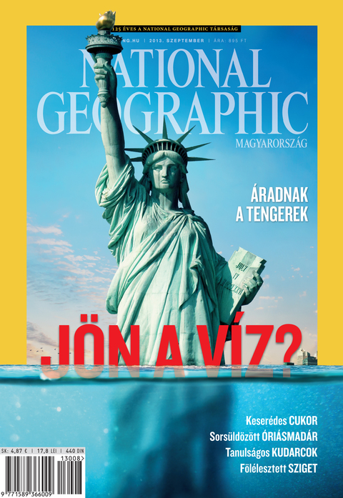 National Geographic Magazin - 2013. szeptember