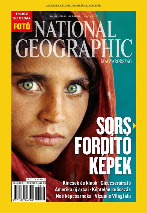 National Geographic Magazin - 2013. október