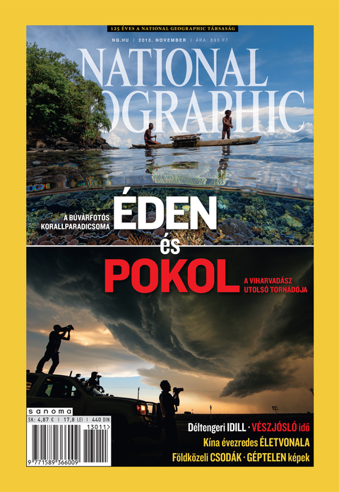 National Geographic Magazin - 2013. november